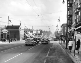 [Granville Street at 12th Ave, looking south]