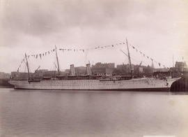 C.P.R. Str. Empress of India at Docks, Vancouver, B.C.