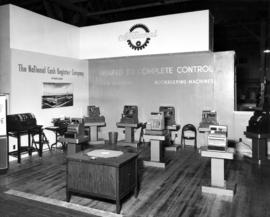 National Cash Register Co. display of office machines