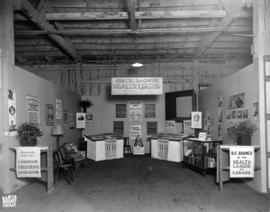 Greater Vancouver Health League exhibit