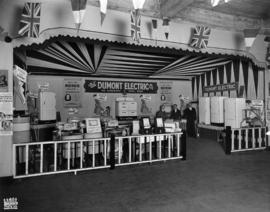 Dumont Electric Co. display of electrical appliances