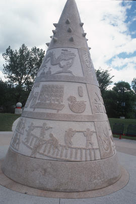 Public monument to Chinese Canadians in Calgary