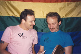 Thom Harrison and Jim Deva