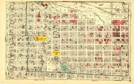 Sheet 13 : Ontario Street to Clark Drive and First Avenue to Sixteenth Avenue