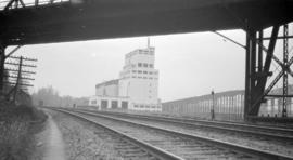 [View of Alberta Wheat Pool elevator]