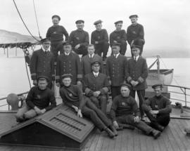 "Crew of the ""Lady Kindersley"" - [Group Photograph]"
