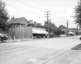 [View of north side of Davie Street between Jervis and Thurlow Strees]