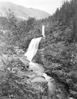 [Twin Falls in Waterton Lakes National Park]