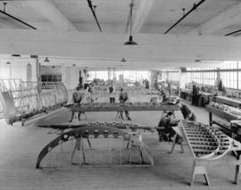 Boeing Aircraft Co. of Canada, flying boat construction, wing construction