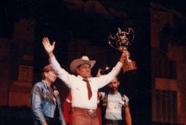 Celebration '90 : Gay Games III [Paul Mart receives Tom Waddell Cup]