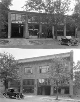 [Automobile Owners' Association garage (top) and Consolidated Motors Ltd. (bottom), Georgia ...