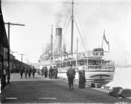 S.S. Princess Royal [docked at C.P.R. wharf]