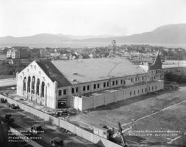 Seaforth Highlanders Armoury [under construction on the east side of the 1700 Block Cedar Street]