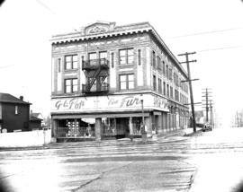 [Exterior view of G.L. Pop Fine Furs, 2152 Main Street]
