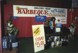 Sundance Barbeque display booth