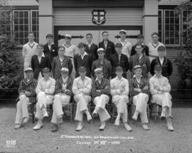 St. George's School and Brentwood College Cricket 1st. XIs