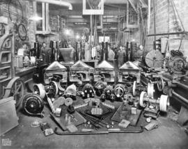 [Interior of Heatley Machine Works, 636 Alexander Street]