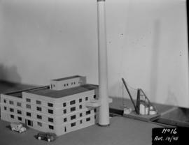 Powerhouse construction - architectural model