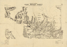 British Columbia : Port Moody sheet : west of seventh, east and west of coast meridians