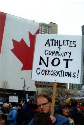 "[""Take Back Our City"" anti-Olympics rally]"