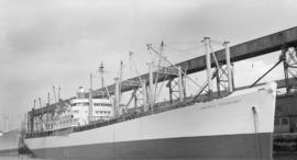 S.S. America Transport [at dock]