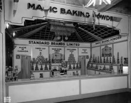 Standard Brands display of food products