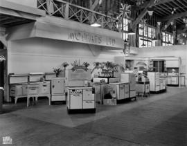 Moffats display of kitchen appliances