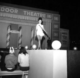 1966 Miss P.N.E. competition on Outdoor Theatre stage