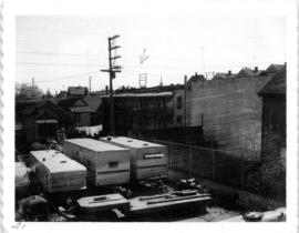 Manke's Cabins from Hastings Viaduct (900 Block E. Pender Street)