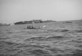 N.P.A.A.O. [North Pacific Association of Amateur Oarsmen. Four-man sculls at] Esquimalt