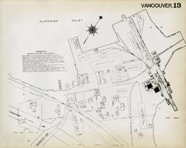 Plan of Vancouver, 1889 [fire map] : [Hastings Saw Mill to Dunlevy Avenue]