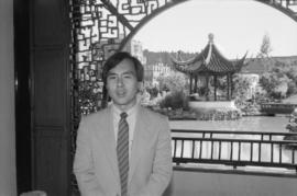 Businessman Ron Shon at Dr. Sun Yat-sen Garden