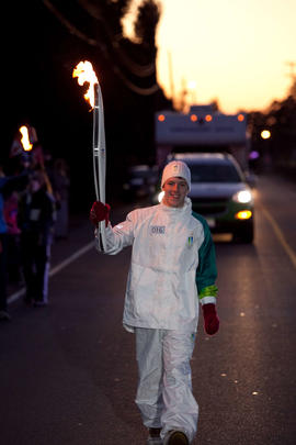 Day 003, torchbearer no. 016, Ada M - long Nanaimo