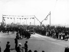 [Opening of Georgia Street Viaduct]
