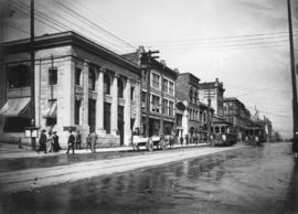 [Hastings Street at Richards Street]