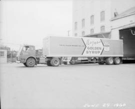 New bulk sugar delivery truck