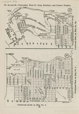 Sectional map and street directory of Vancouver, British Columbia : [Imperial Street to N.W. Mari...