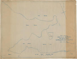 Plan of survey of coast-line around Coal Peninsula, New Westminster District