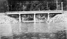 [Bridge near] North Pacific Cannery