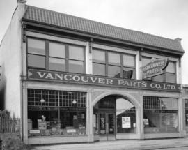 Vancouver Parts Company Limited premises [at 1365 Seymour Street]