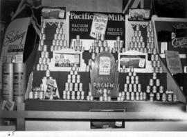 Pacific Milk display