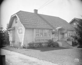 [Photograph of house at 36th Ave. and Collingwood St., Vancouver B.C.]