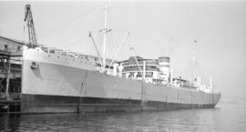 M.S. Silversandal [at dock]