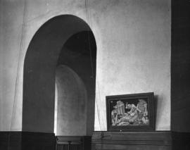 [Doorway and painting], St. James' Church [303 East Cordova Street]