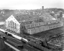 [Seaforth Armoury under construction - 1650 Burrard Street]