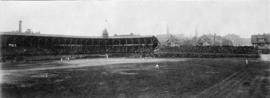 [A baseball game at Recreation Park at Smithe Street and Homer Street]