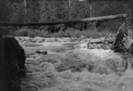 Capilano River - where the dam is - 1906