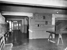 Interior of Fairview High School of Commerce, basement
