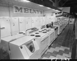 Melny's display of household appliances