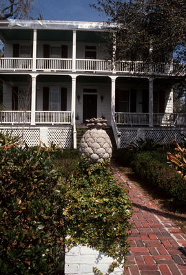 Gardens - United States : Beaufort, 1861, owned by slaves